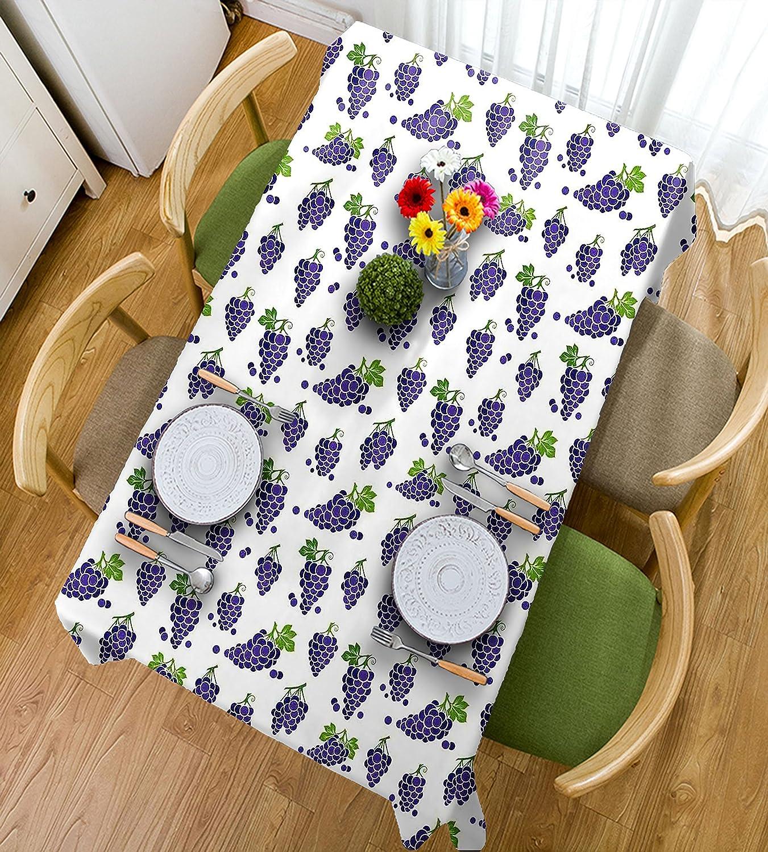 Disfruta de un 50% de descuento. HAIXIA Mantel para decoración del del del hogar, diseño de jummy y jabón orgánico, color morado y verde, 55inch82inch  están haciendo actividades de descuento