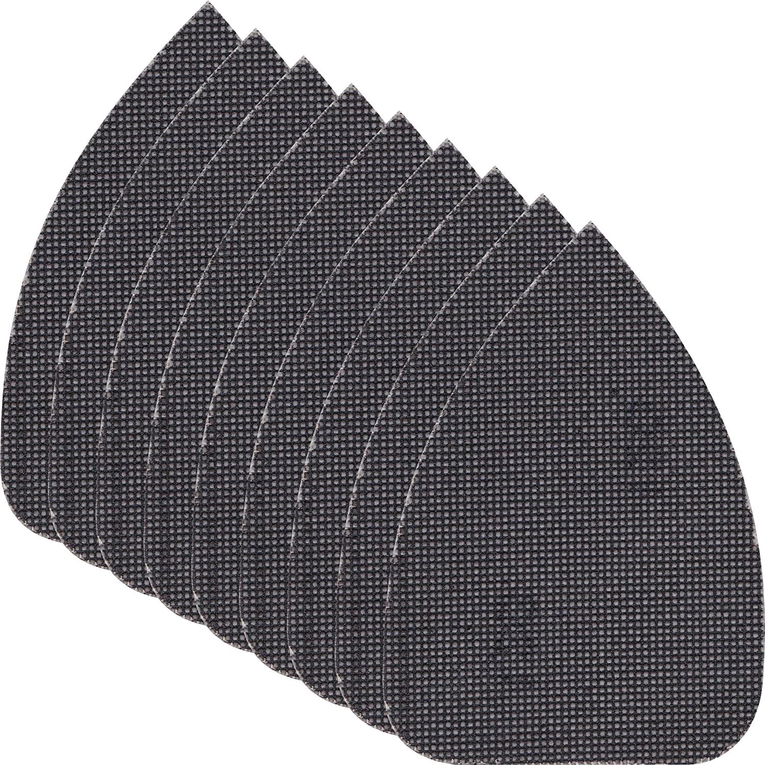 Premium Long Lasting Replacement Mesh Sanding Sandpaper Sheets for Black & Decker KA2500K Mouse (3, 240G) Stanley Black & Decker