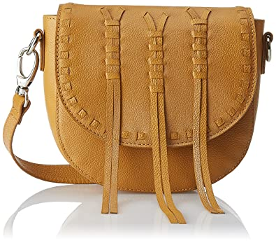 AQUATAN Boho Whipstitch Women's Sling Bag (Mustard) (AT-S03-06)