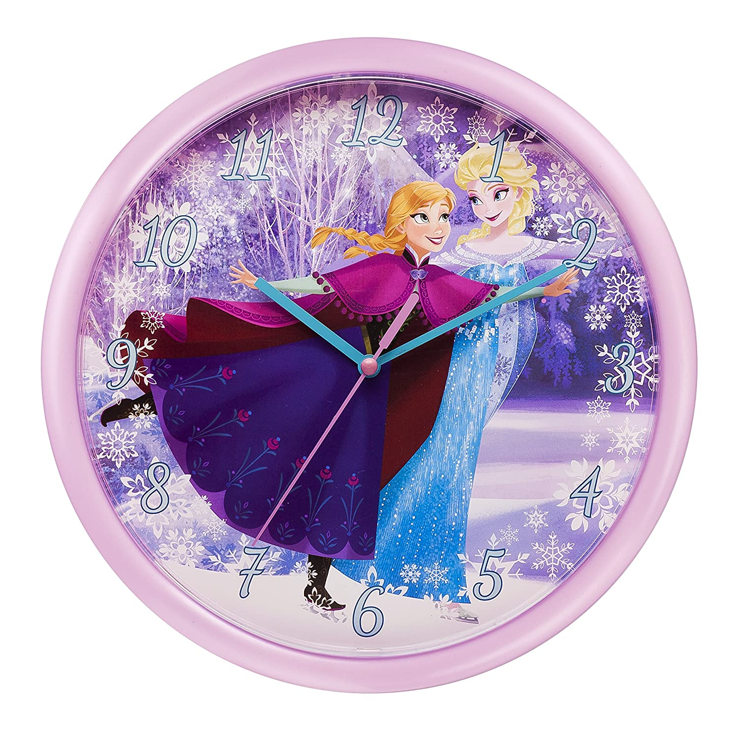 FROZEN Wall Clock Amazoncouk Kitchen Home