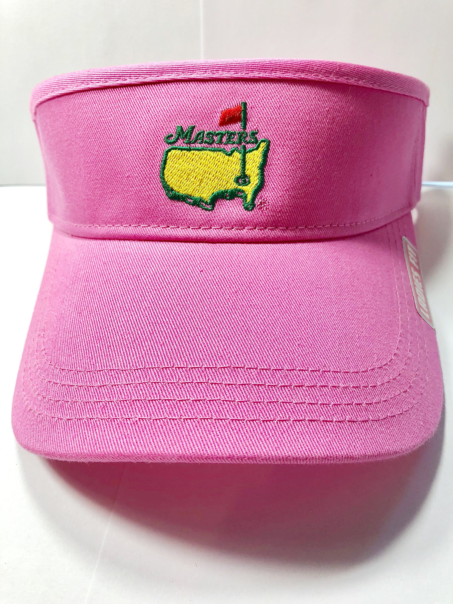 Masters Ladies Women's 2018 Golf Light Pink Visor Hat Adjustable Official Augusta National
