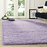 Safavieh California Shag Collection SG151-7272 Lilac Area Rug (4' x 6')