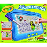 Crayola Magic Screen Creator, 6 Gel FX Markers,Coloring Board for Kids, 70 Action Cards, Creative Gift