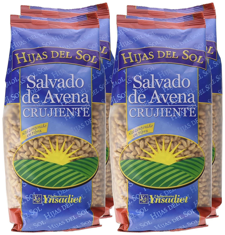 Hijas Del Sol Salvado De Avena Crujiente - 250 gr - [Pack de 4]: Amazon.es: Alimentación y bebidas