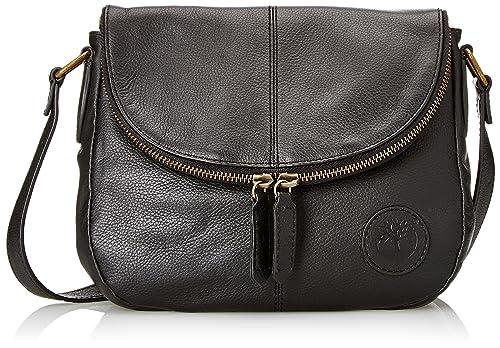 Tb0m5537, Womens Cross-Body Bag, Nero, 14.5x32.5x33.5 cm (W x H L) Timberland
