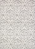 Unique Loom Damask Collection Traditional Floral