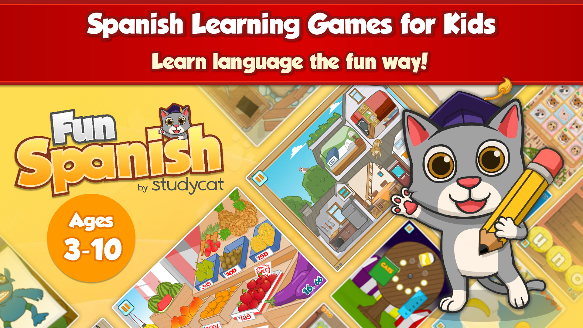 how to speak spanish online games