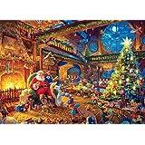 Ceaco Thomas Kinkade -Santa's Workshop Puzzle - 1000 Pieces