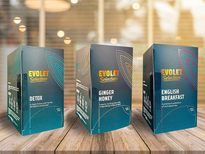 EVOLET Selection, Té de Jengibre y Miel (Ginger & Honey Tea ...