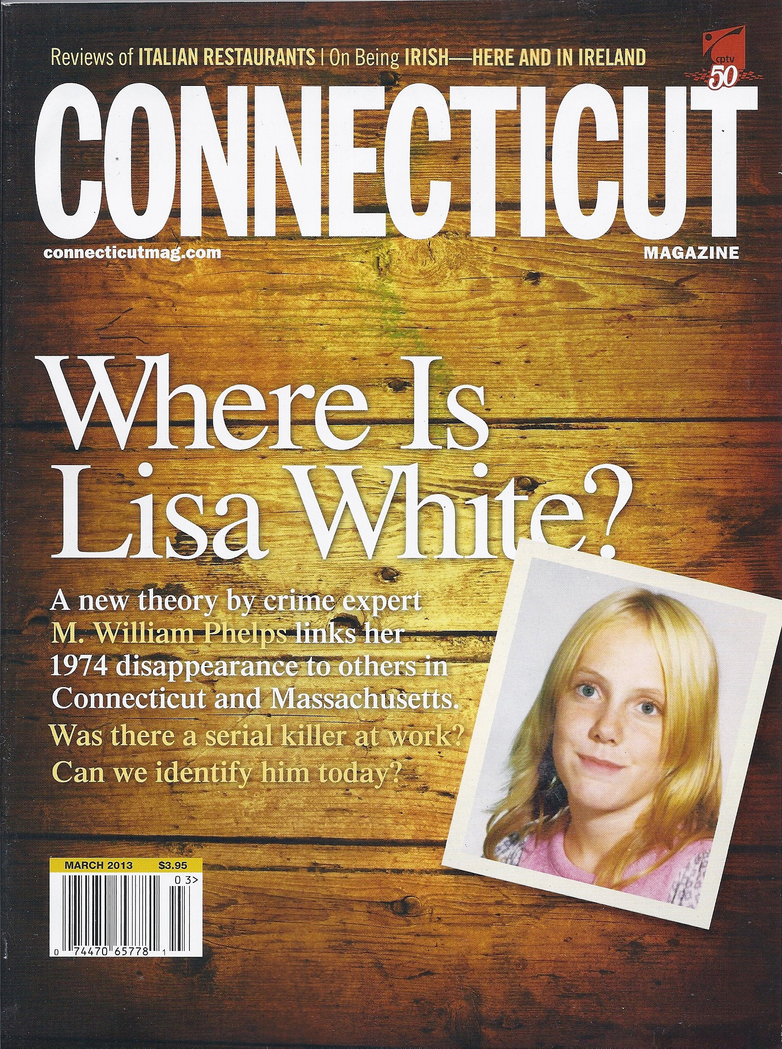 Connecticut Magazine (March 2013 (Where Is Lisa White?)) PDF