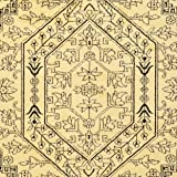 Safavieh Adirondack Collection ADR108H Gold and