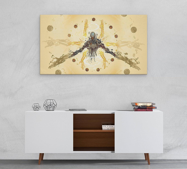 Amazon.com: Overwatch Zenyatta Canvas, Poster, Print, Wall Art N.010 ...