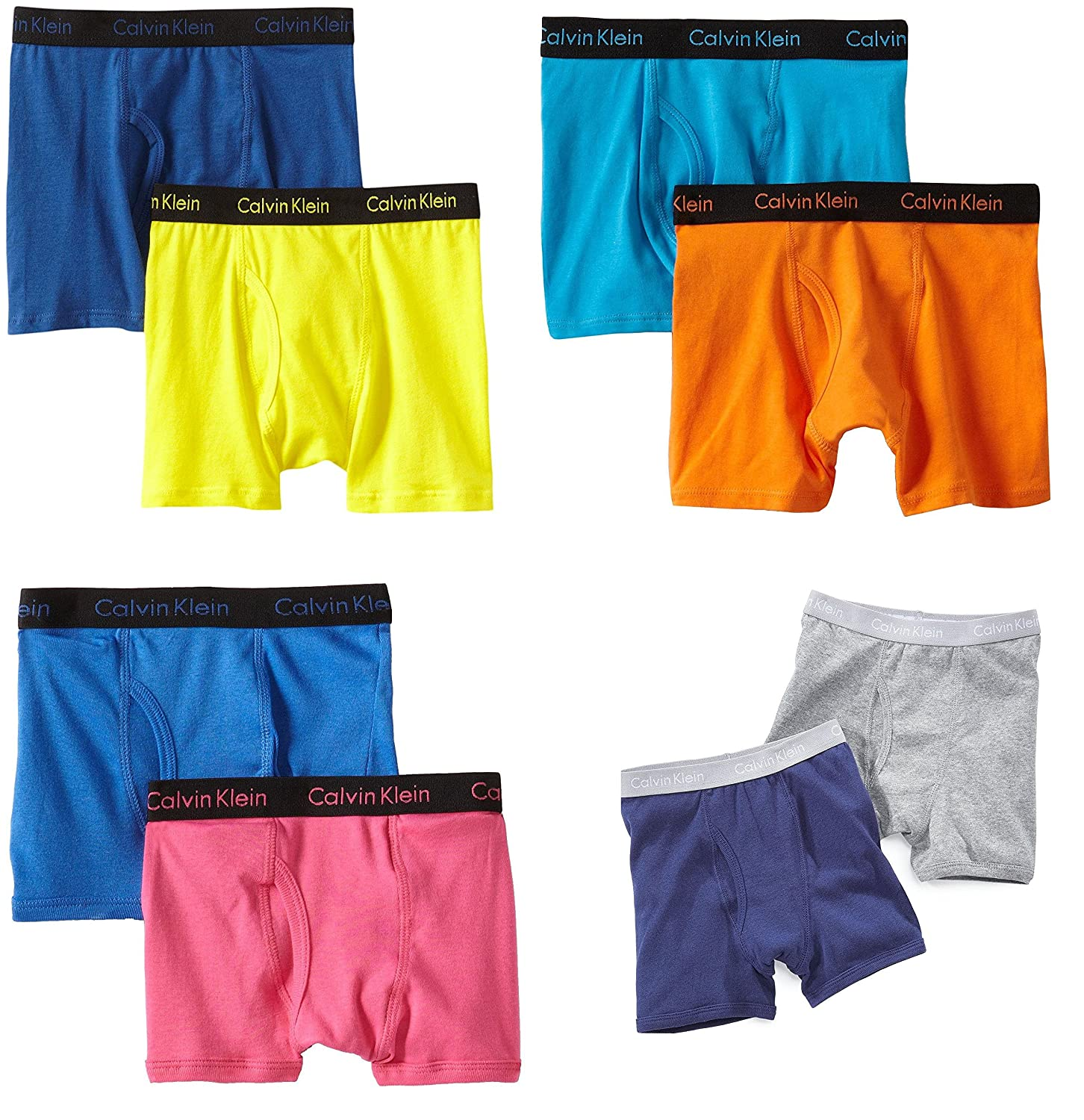 Premium Quality Boys 6-Pack Boxer Shorts [2 yrs- 14+ Years] CK (any color/print))