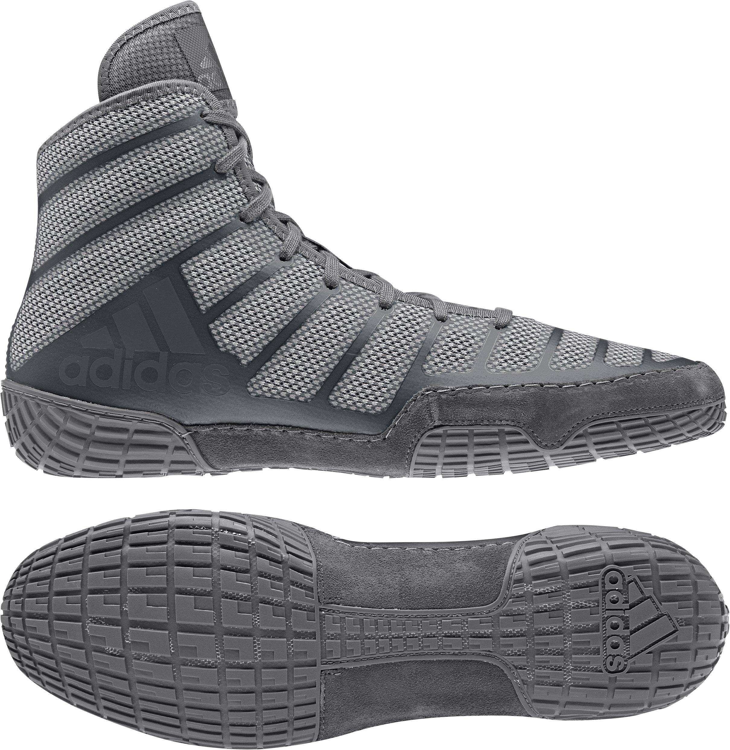 e8aac12bddf Galleon - Adidas Men s Adizero Varner Wrestling Shoes