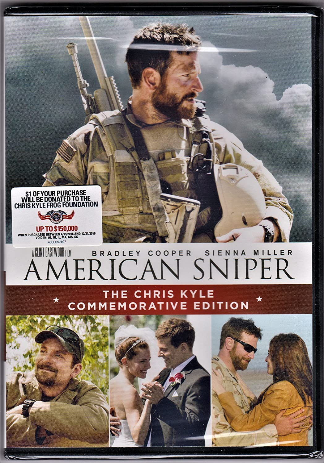American Sniper Special Edition By Bradley Cooper Amazon Fr Dvd Blu Ray