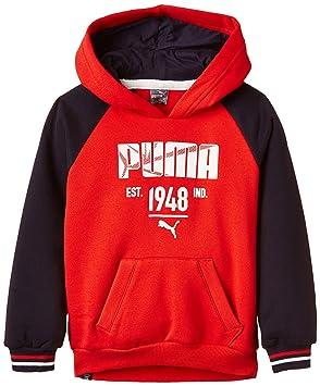 Athletic Niños Para Niño Sudadera Style Puma Capucha Con 5FAAx7