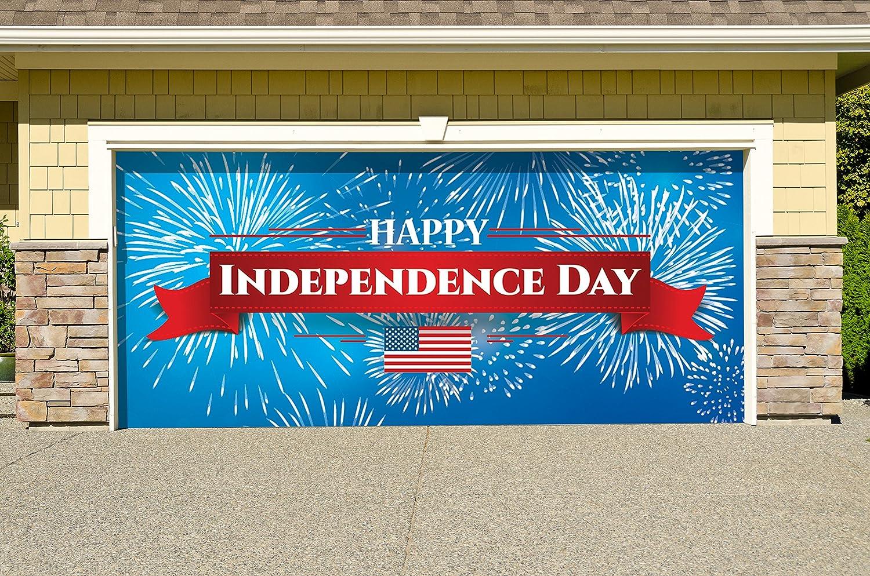 The Original Holiday Garage Door Banner Decor Victory Corps Republican Holiday Garage Door Banner Mural Sign Décor 7x 8 Car Garage Patio Lawn Garden Outdoor Décor