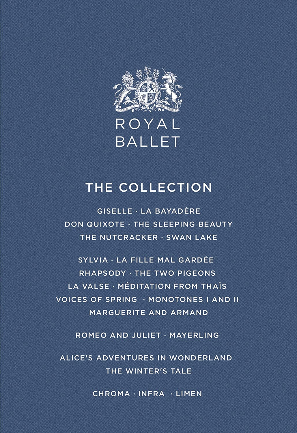 Royal Ballet Collection/ [DVD] B01KO7G8ZY