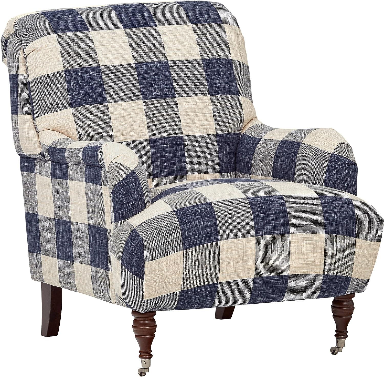 Amazon Brand – Stone & Beam Cameron Classic Oversized Arm Chair, 32