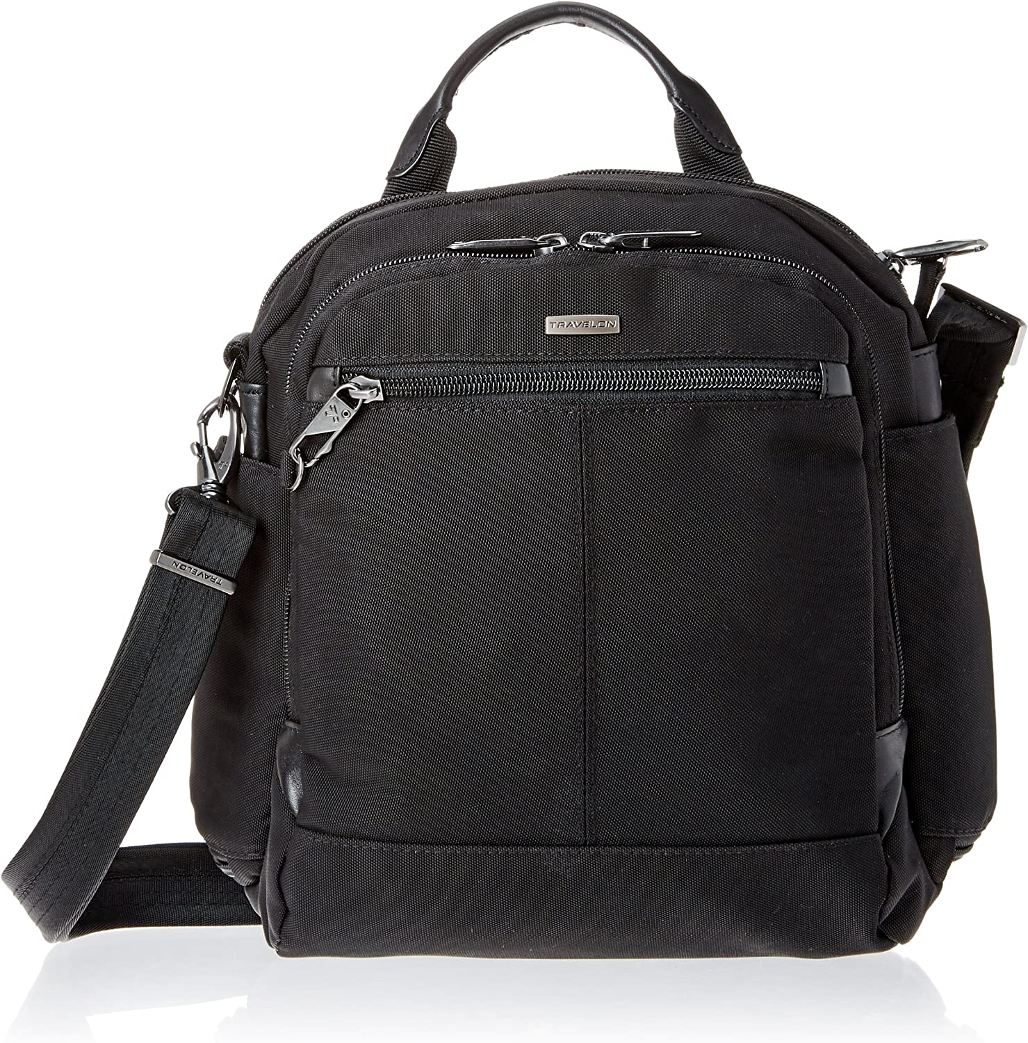 Travelon Anti-Theft Concealed Carry Tour Bag, Black, One Size