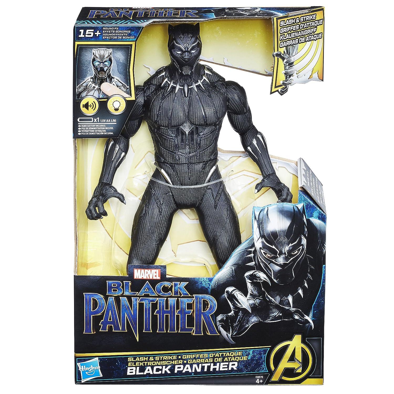 Black Panther Panther-E0870 Garras De Ataque, Color Negro (Hasbro ...