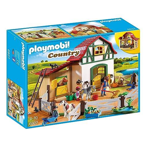 Playmobil - 6927 - Jeu - Poney Club