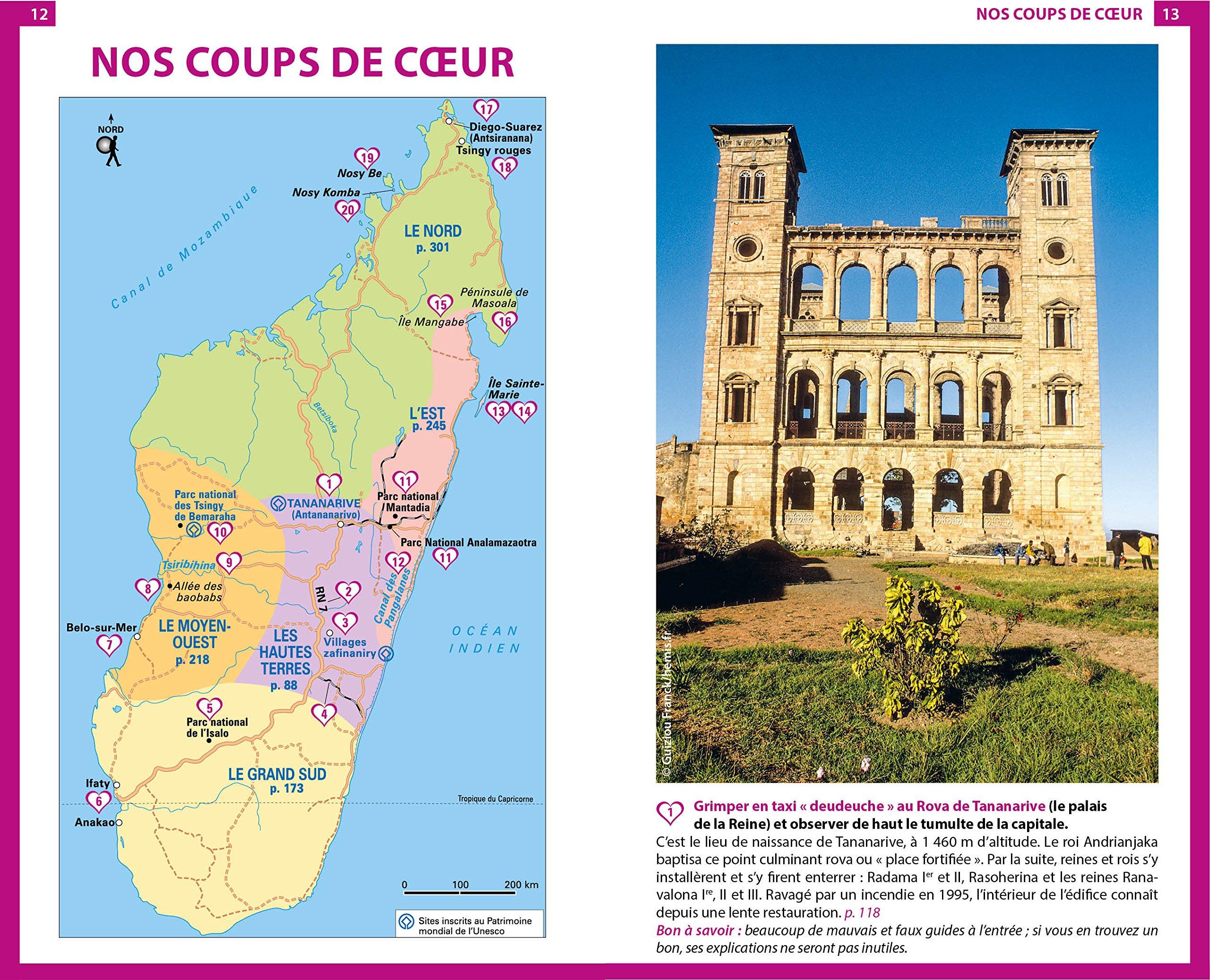 Carte Madagascar Routard.Amazon Fr Guide Du Routard Madagascar 2018 19 Collectif