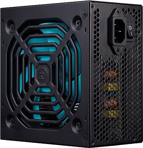 Hiditec EVO600 Unidad de - Fuente de alimentación (600 W, 230 V, 85%, 50-60 Hz, Activo, 20 W): Amazon.es: Informática