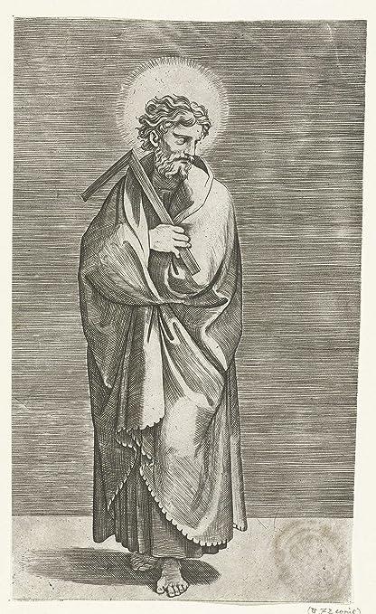 Amazon.com: Classic Art Poster - Apostle Thomas with square, Marco ...