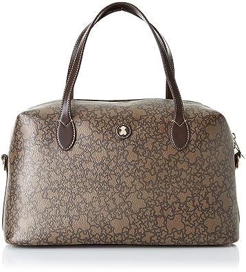 3b360bd65 Amazon.com: Tous Bowling mediano Kaos Mini, Women's Bag, Beige ...