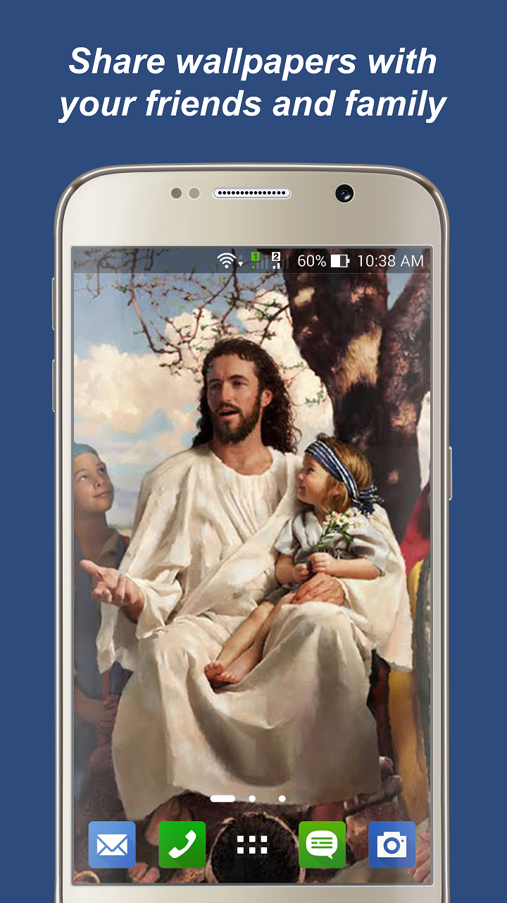 Amazoncom Jesus Wallpapers Christian Pictures For Your Mobile