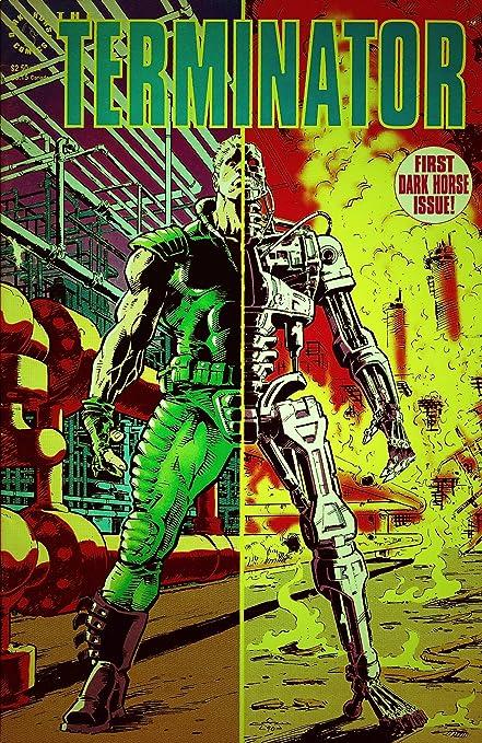Amazon.com: Dark Horse Comics The Terminator First Dark ...