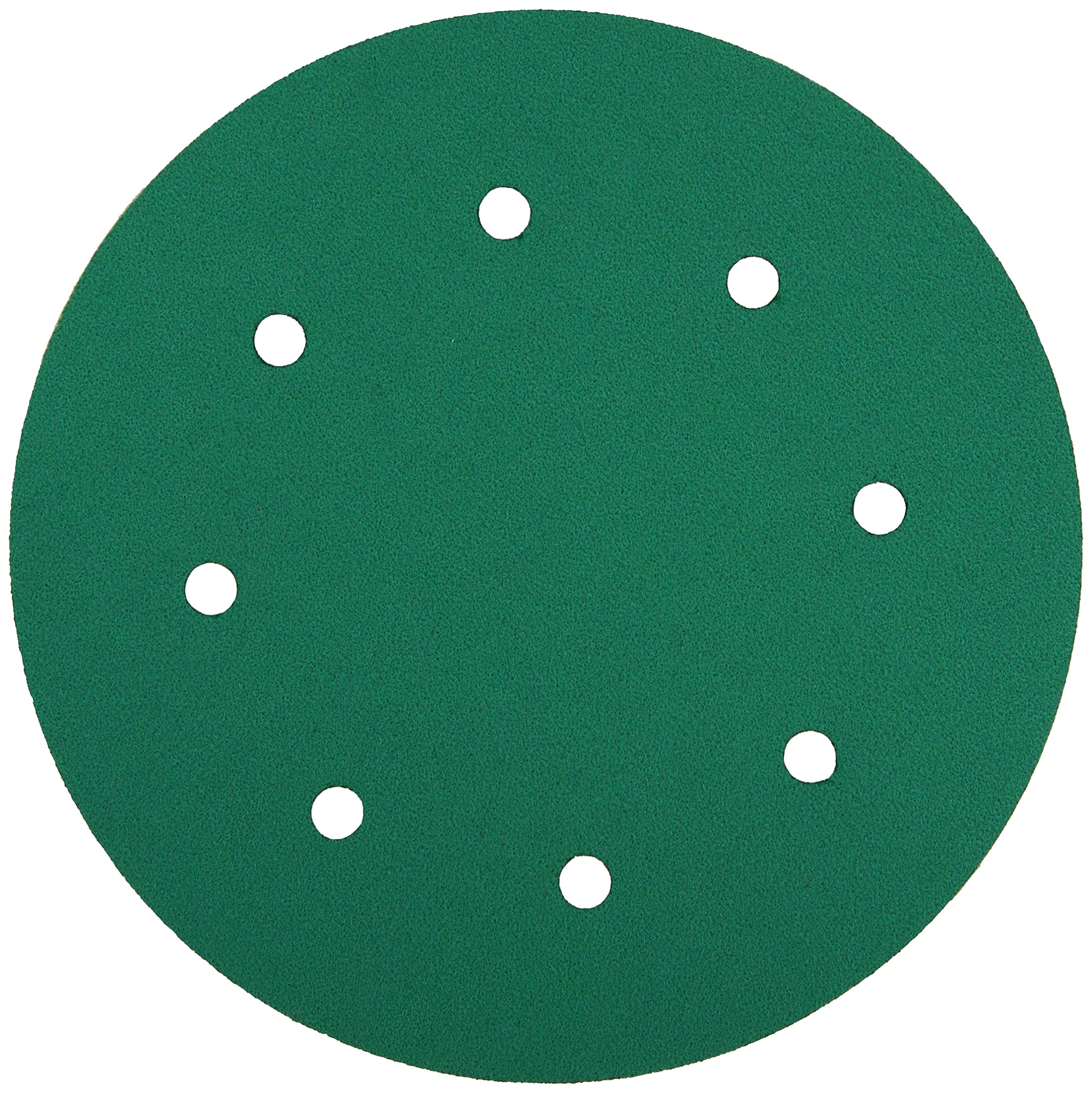 3M 01569 Green Corps Stikit 8'' 80D Grit Dust-Free Production Disc