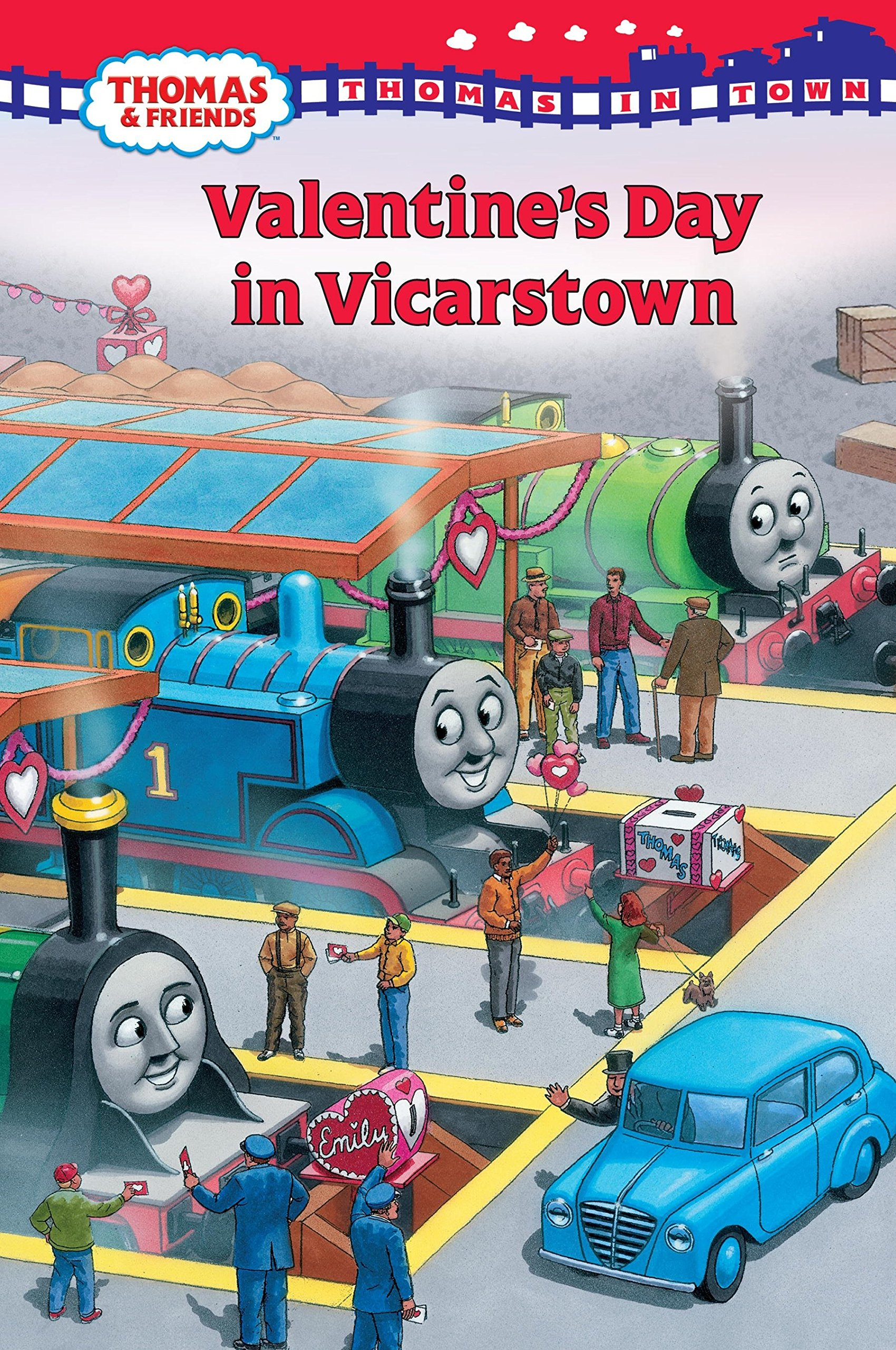 Download Thomas in Town: Valentine's Day in Vicarstown (Thomas & Friends) PDF