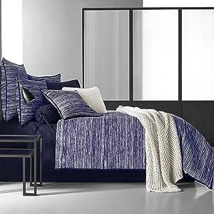 King Five Queens Court Tristan 100/% Brushed Cotton Duvet Grey//Blue