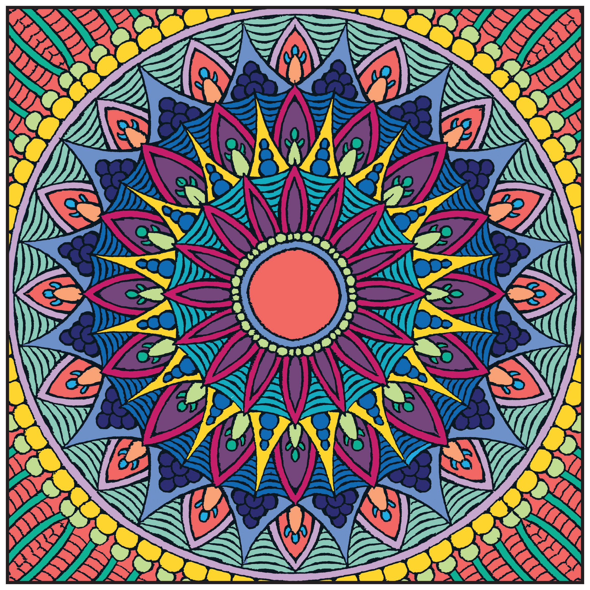 Coloring book color of art - Amazon Com Mandalas Adult Coloring Book With Bonus Relaxation Music Cd Included Color With Music 9781988137032 Newbourne Media Books