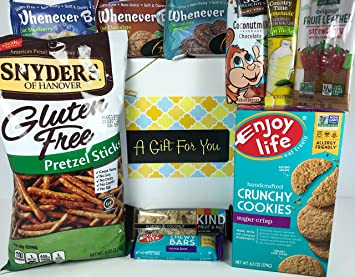 Amazon gluten free dairy free prime gift box basket yummy gluten free dairy free prime gift box basket yummy treats almost 25 pounds negle Images