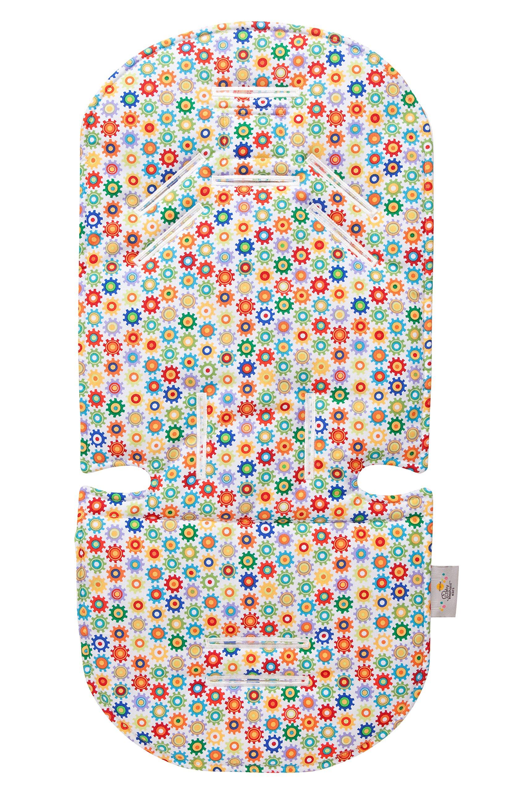 Original Baby Elephant Ears Stroller Liner & Support Pillow Set - For Infants & Toddlers (Sprockets)