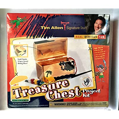 Tim Allen Signature Stuff Treasure Chest Project Kit: Toys & Games