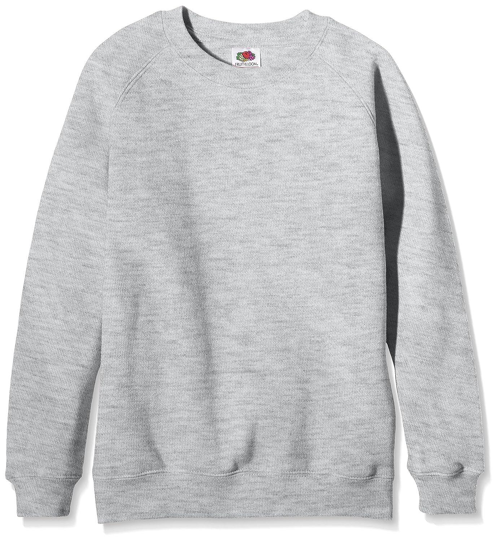 Fruit of the Loom Kids Premium Raglan Sweatshirt