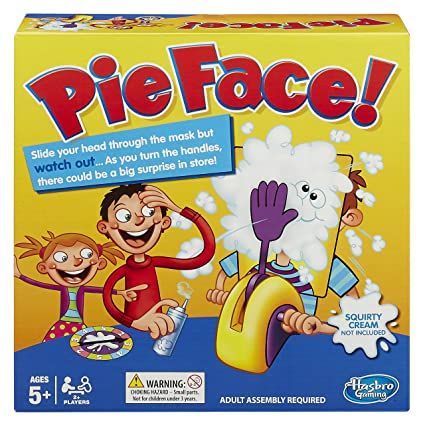 Amazon hasbro pie face game hasbro toys games hasbro pie face game solutioingenieria Gallery