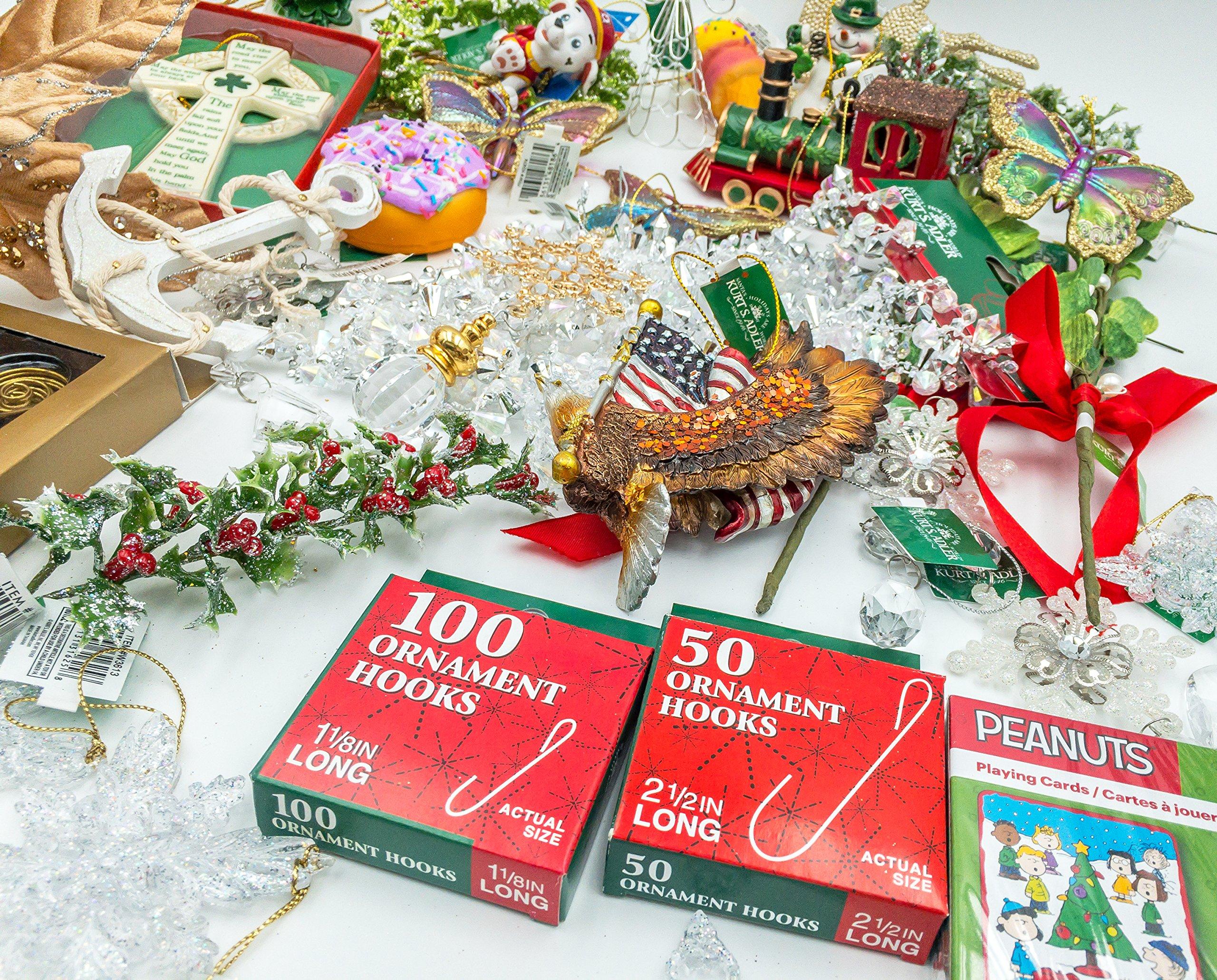 JZ Bundles Starter Set - Best of Christmas Option C - Kurt Adler - 37-Piece Bundle - A Bundle of Christmas Ornaments Great Gift by JZ Bundles (Image #7)