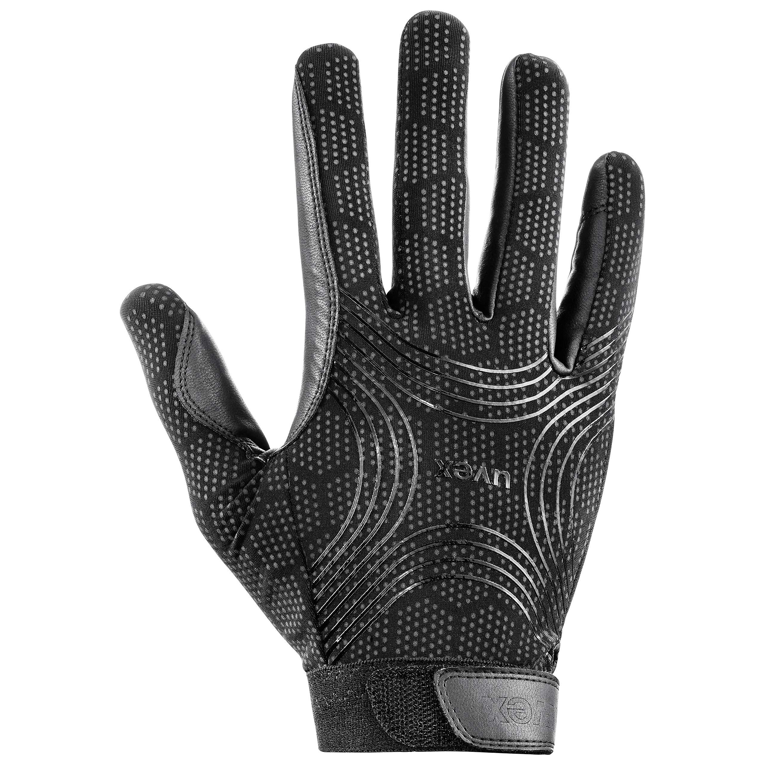 Uvex Ceravent Riding Glove-Black-8
