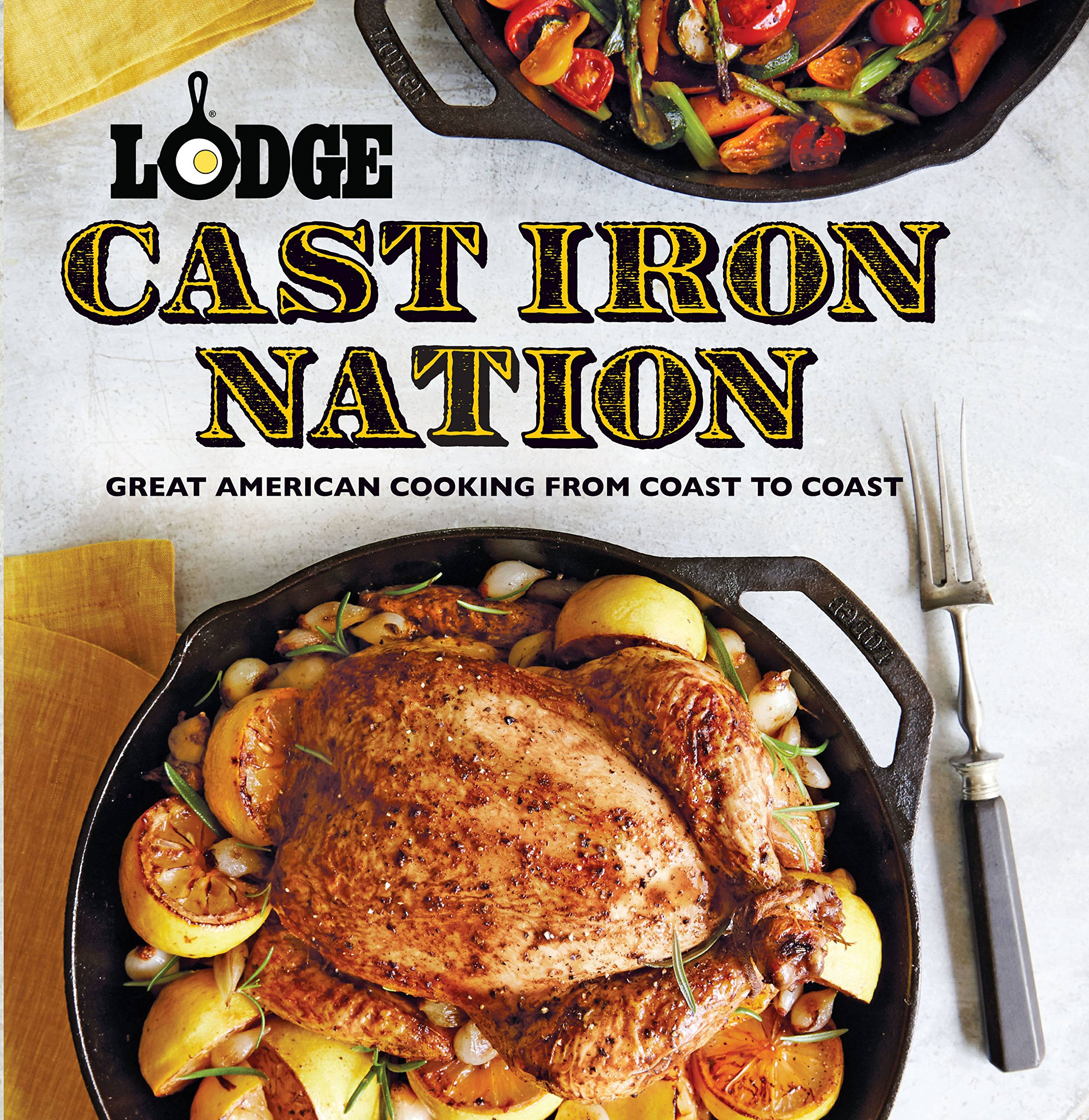 Lodge Cast Iron Nation: Great American Cooking from Coast to Coast: Amazon.es: The Lodge Company: Libros en idiomas extranjeros