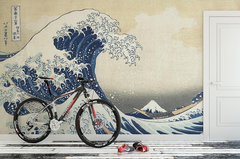 10mil PVC-Free The Great Wave Off Kanagawa by Katsushika Hokusai Poster Print #6113m-20x30 Environmentally Friendly Print 20in Tall X 30in Wide