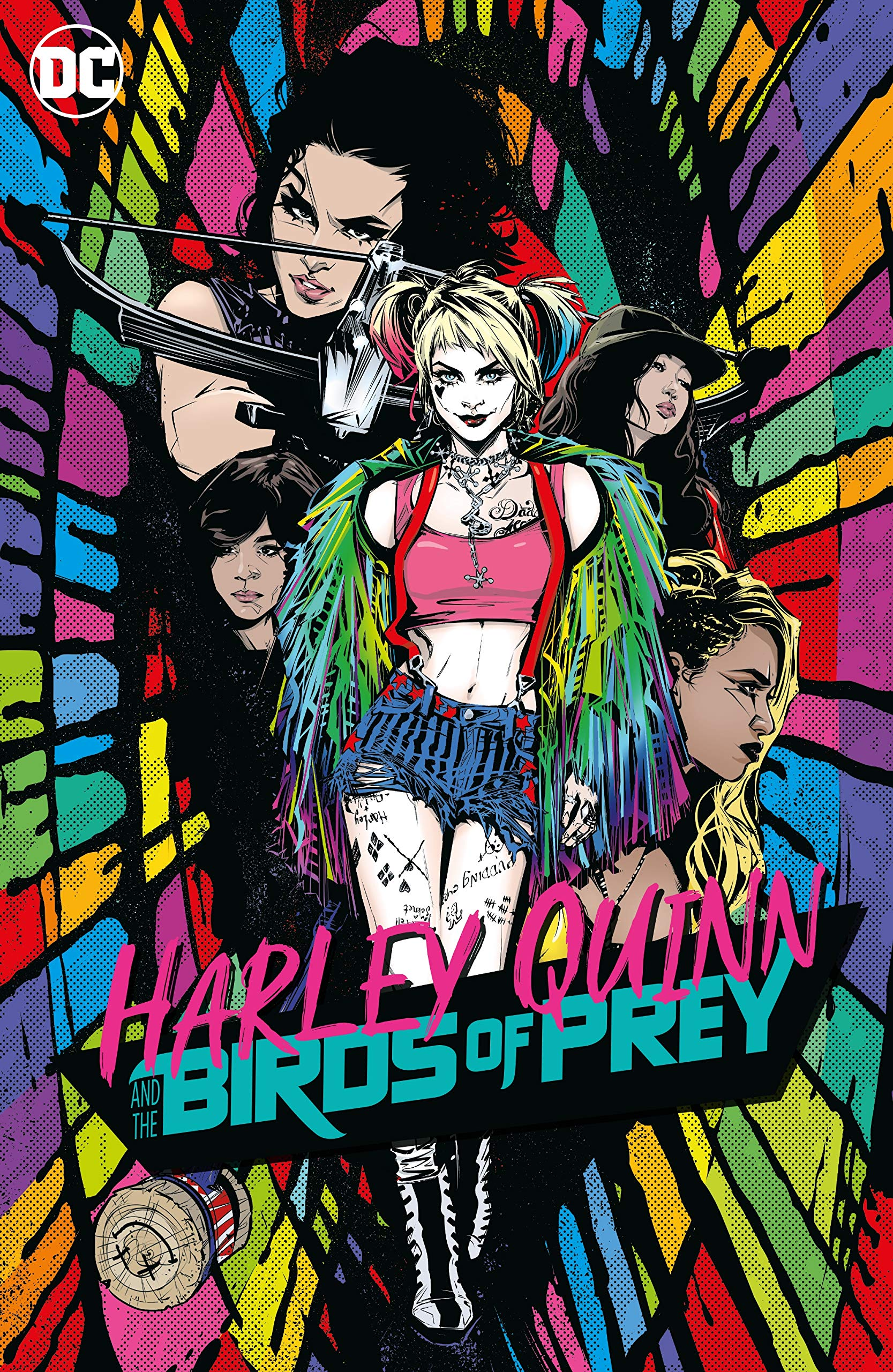 Harley Quinn The Birds Of Prey Harley Quinn And The Birds Of Prey Various 9781401294830 Amazon Com Books