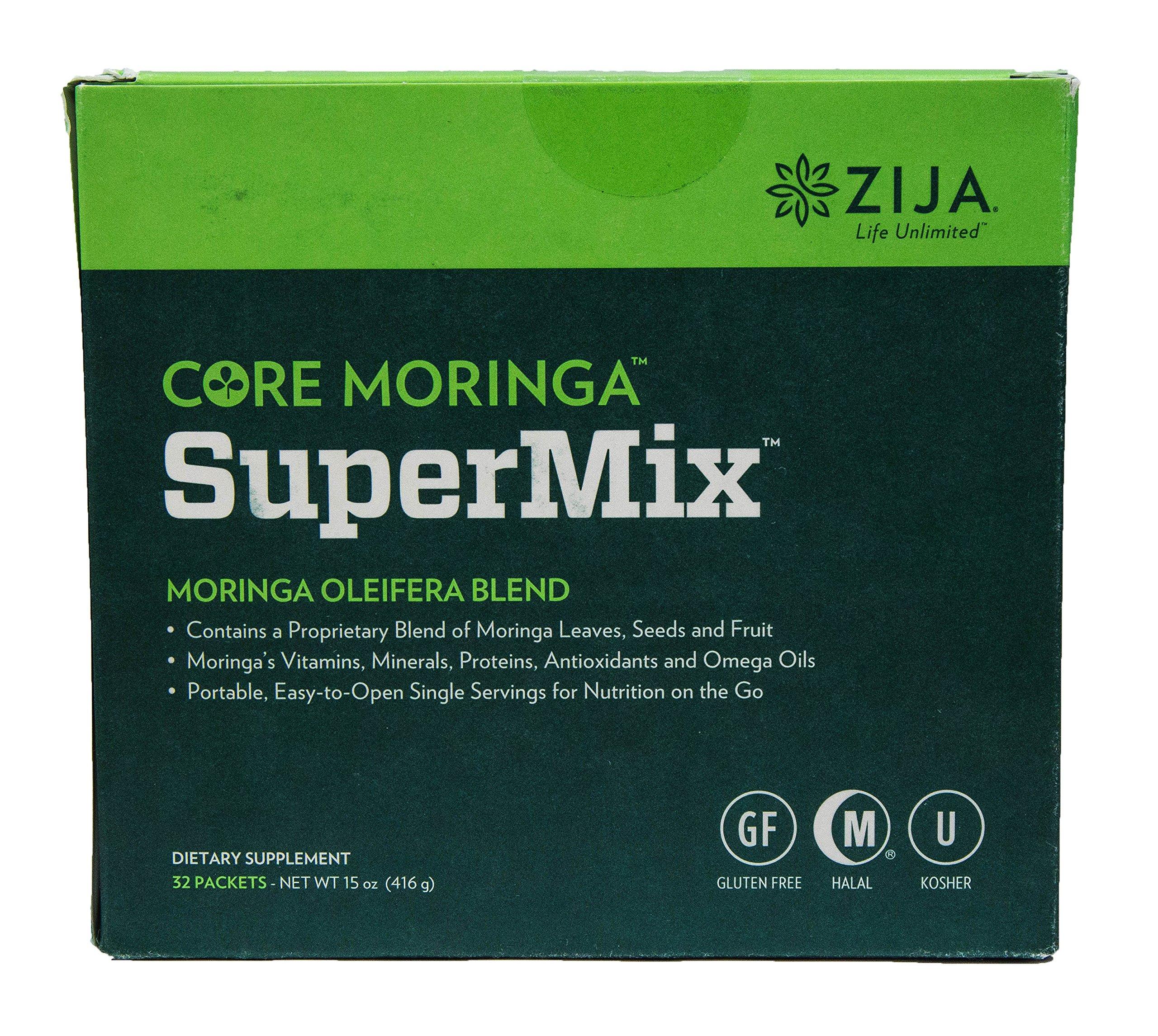 Zija International Core Moringa SuperMix Moringa Oleifera Blend 32 Pack
