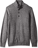 IZOD Men's Harbor River Button up Sweater