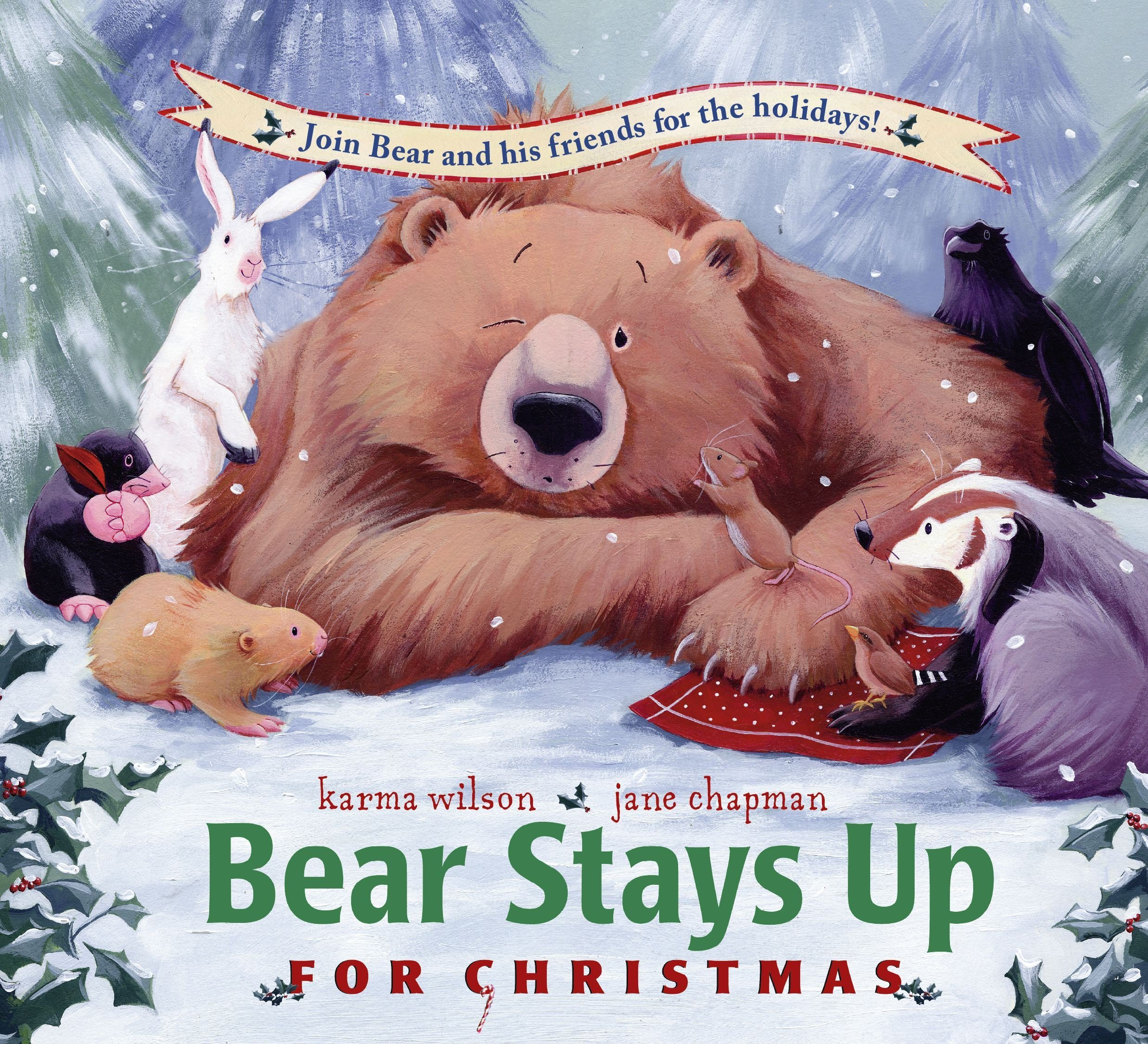Bear Stays Up Christmas Books product image