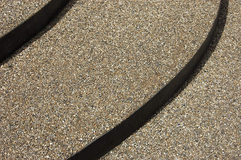 25Kg Steinteppich Marmorkies Bodenbeschichtung Rosso Verona 1-4mm 2qm